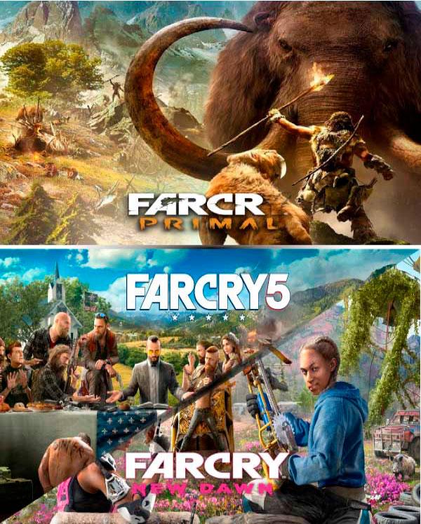 Far Cry Primal + 5 + New Dawn