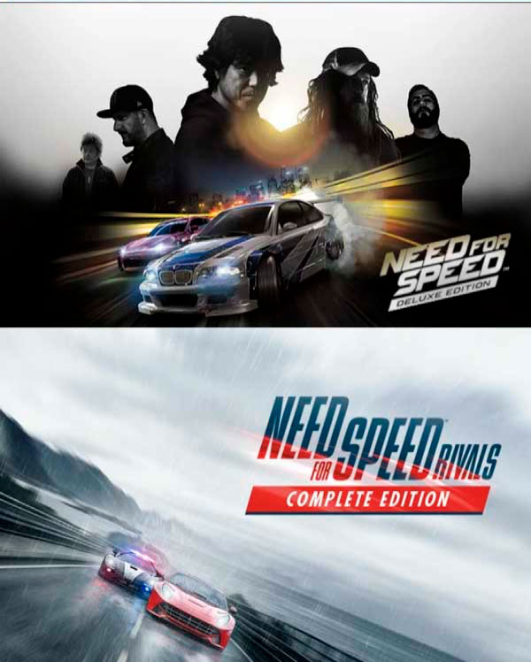 NFS Rivals + NFS Complet Edition